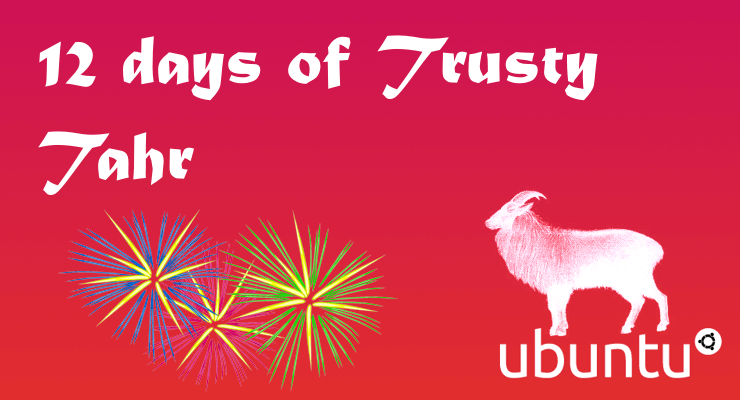12 дней работы сервера Ubuntu 14.04 Trusty Tahr