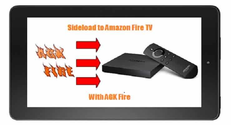 Загрузите Kodi on Fire TV с помощью AGK Fire APK - Метод 4