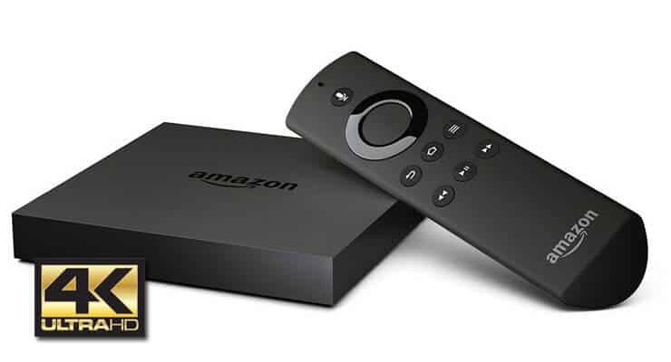 Приложения Amazon Fire TV теперь могут использовать интерфейс 4k