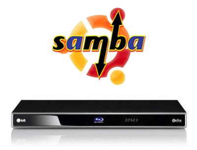 Как настроить LG Bluray Player Samba Share?