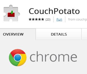 Расширение CouchPotato Chrome - легко добавляйте фильмы для загрузки очереди