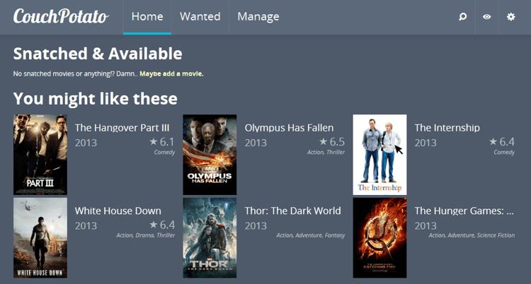 Установите CouchPotato на Ubuntu в несколько простых шагов