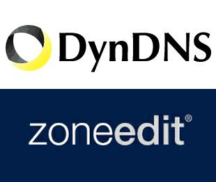Настройте динамический DNS-клиент (ddclient) для одновременного обновления DynDns и Zoneedit