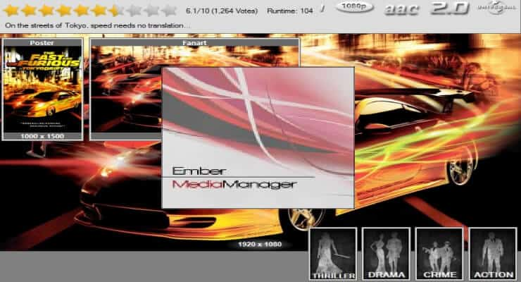 Установите и настройте Ember Media Manager - лучший медиа-менеджер для Kodi
