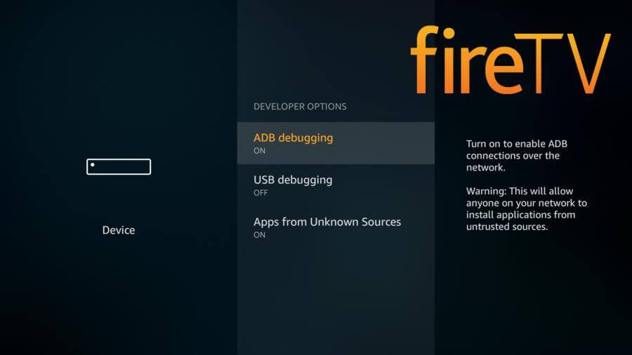 Необходимые условия для установки неофициальных приложений на Fire TV - 2017