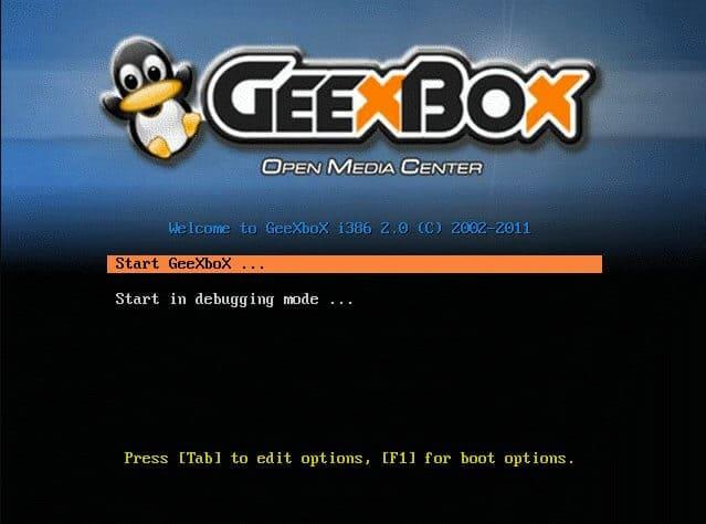Выпущена GeeXboX 3.0 - ОС Linux с открытым исходным кодом для медиацентра