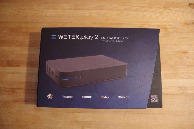 Обзор потоковой трансляции Android WeTek Play 2: потоковое ТВ и прямая трансляция