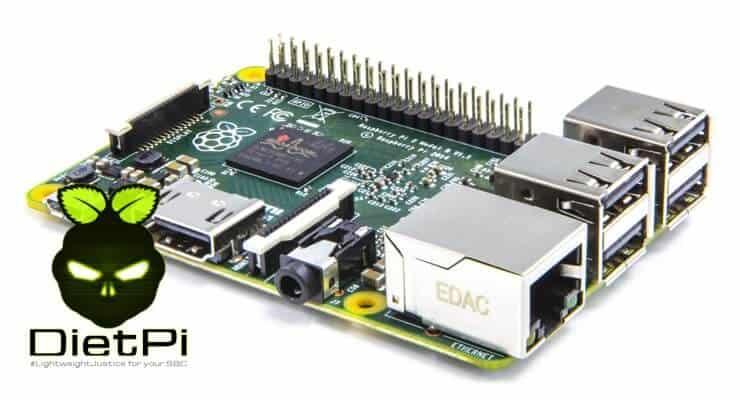 Настройка Diet Pi на Raspberry Pi 3 - облегченная серверная ОС