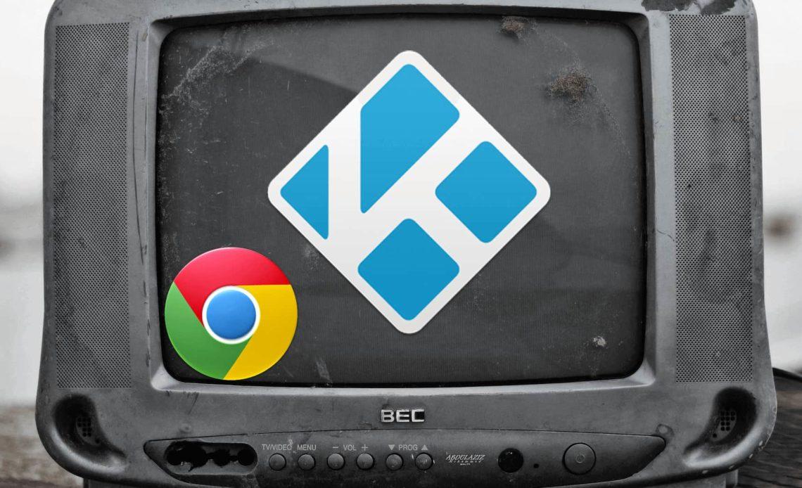 Дополнение к Chrome Launcher для Kodi Media Center