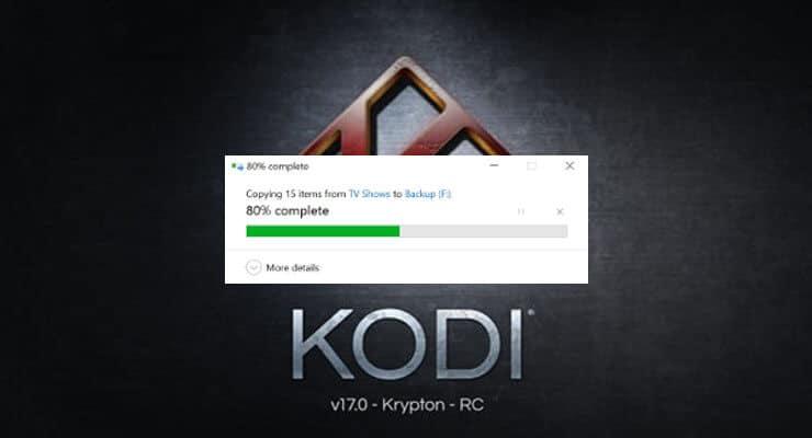 Как скопировать профили Kodi с одного устройства на другое?