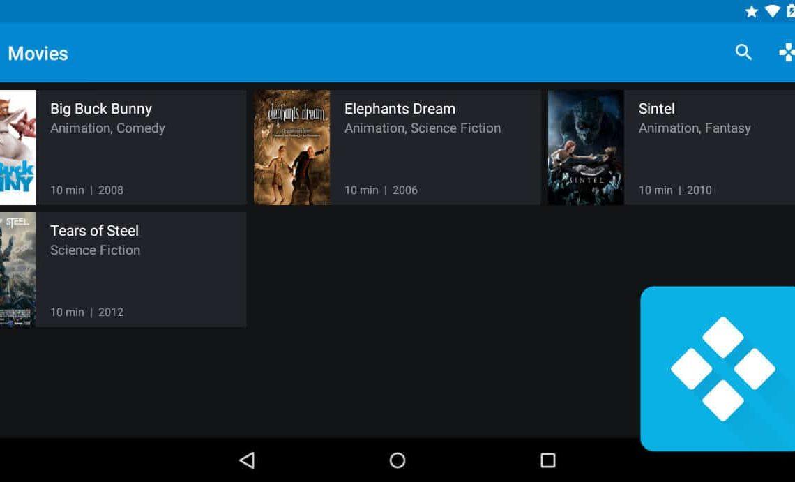 Kore: официальное приложение дистанционного управления для XBMC / Kodi