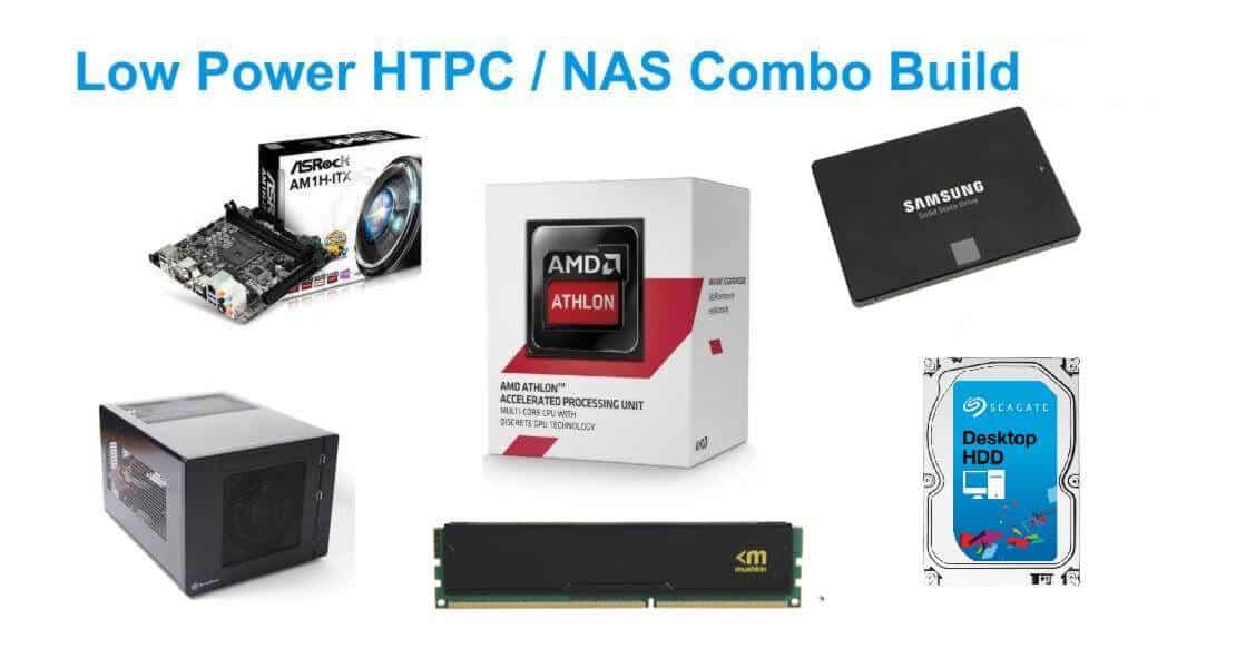 Энергоэффективный бюджетный HTPC-NAS combo build 2016