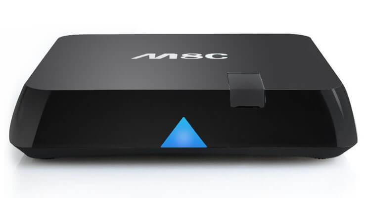 M8C Android box: четырехъядерный медиа-стример с веб-камерой