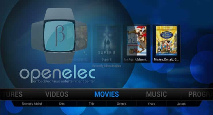 Выпущена OpenELEC 6.0 Beta 3: Представляем Kodi-15.0 Isengard (RC 2)