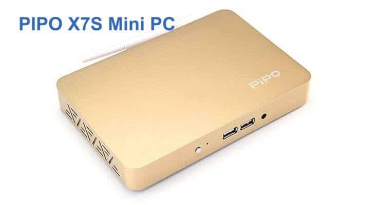 PIPO X7S Mini PC поддерживает двойную загрузку Windows 8.1 и Android 4.4
