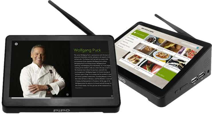 PiPO X8: сенсорное устройство с двойной загрузкой Android / Windows