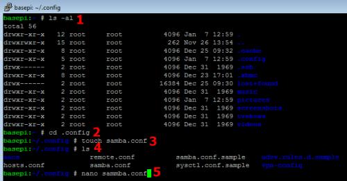 Включите и настройте общий ресурс OpenELEC Samba на Raspberry Pi