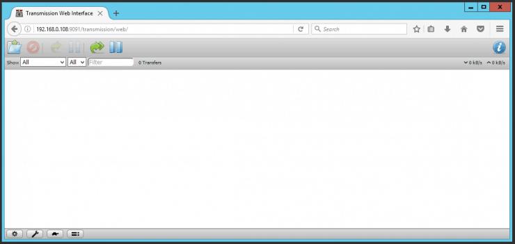 Установите Transmission с помощью Docker - BitTorrent Download Client