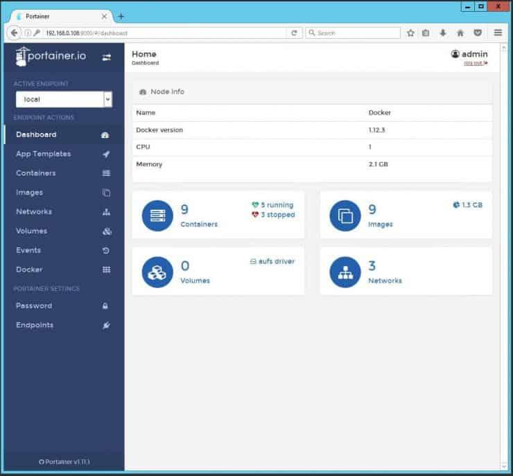 Установите Portainer с помощью Docker - управляйте всеми вашими контейнерами Docker