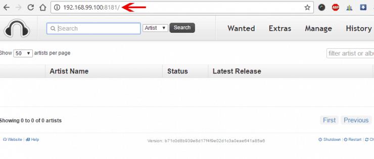Как установить наушники на Docker с использованием графического интерфейса Kitematic?