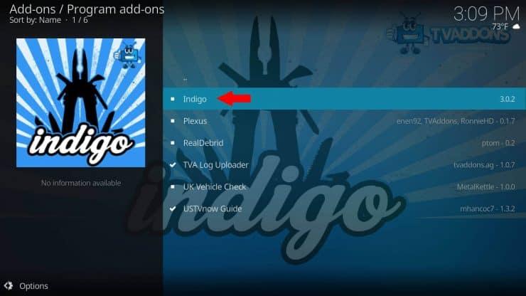 Как установить дополнение Indigo на Kodi: обслуживание, потоковое вещание и многое другое