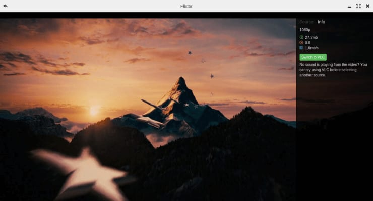 Flixtor, альтернатива Popcorn Time, которая предлагает некоторые новые функции