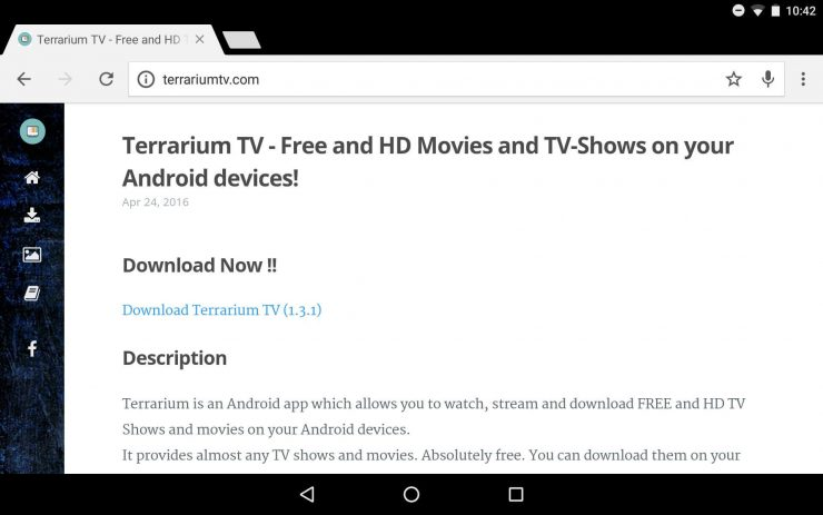 Руководство: Как установить Terrarium TV на ваше устройство Android