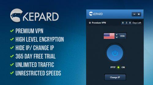 Kepard бесплатно раздает лучшие услуги VPN