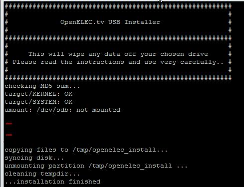 Как установить OpenELEC на Raspberry Pi в системе Linux?