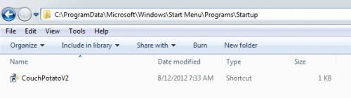 Как настроить CouchPotato на Windows из исходного кода?