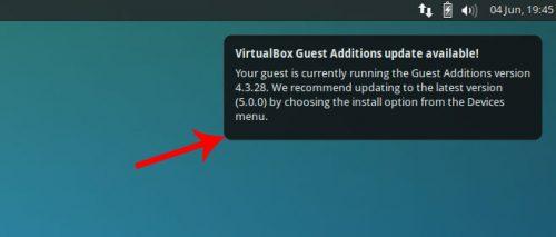 Обновление гостевых дополнений VirtualBox в Ubuntu Linux