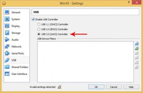 Установите пакет расширений VirtualBox в Linux и Windows