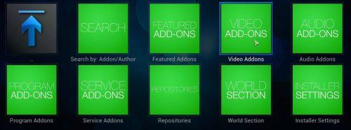 Установите Установщик Аддона на Kodi, иначе Установщик Fusion, из ZIP (Способ 1)