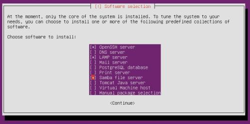 Установите Ubuntu Server 14.04 Trusty Tahr в качестве домашнего сервера