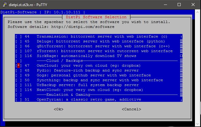 Настройте сервер OwnCloud с помощью Raspberry Pi 3 - Private Cloud Storage