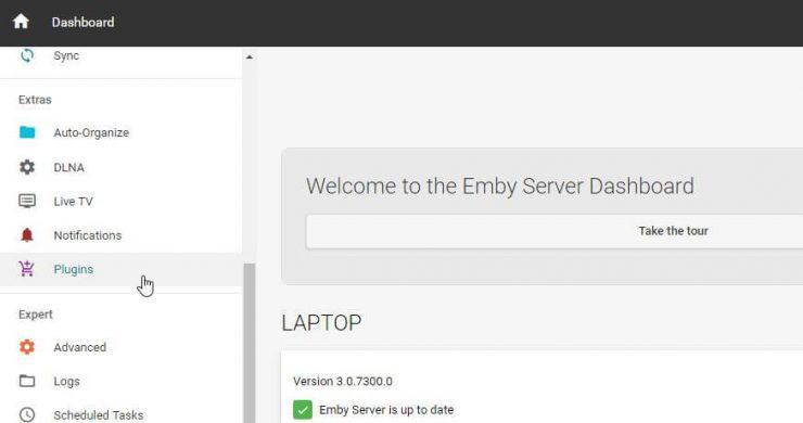 Руководство: Как установить Emby Vine Plugin на свой домашний сервер