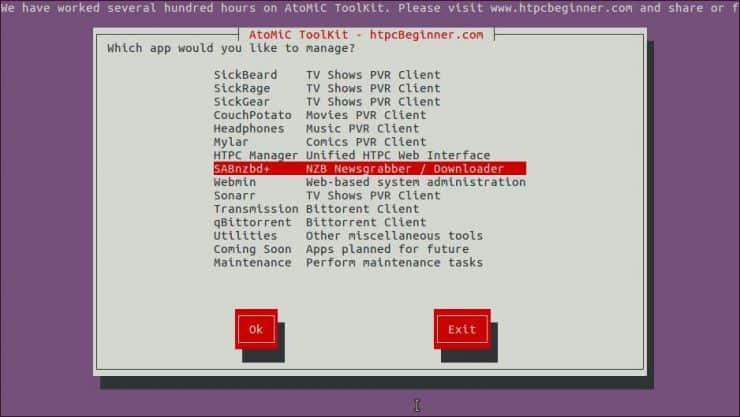 Установите SABnzbd на Ubuntu Server - простой метод AtoMiC