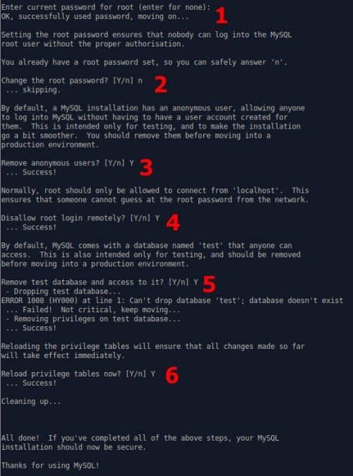 Как установить MySQL Server на Ubuntu и защитить его?