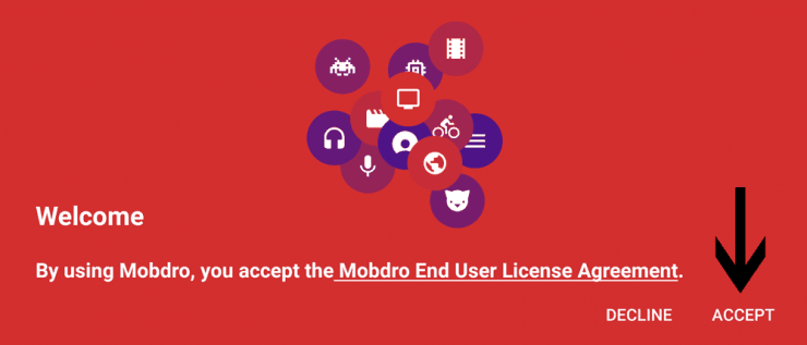 Установите Mobdro на Android TV Box / Устройство - Бесплатный Live TV