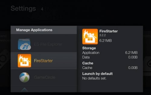 Установите FireStarter на Fire TV без ADB и компьютера