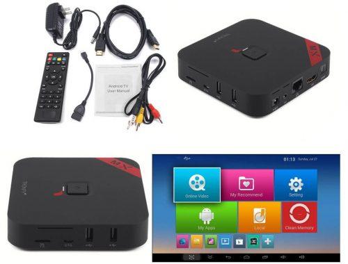 Обзор Tronfy MXQ: четырехъядерный Android TV Box для вашего HTPC