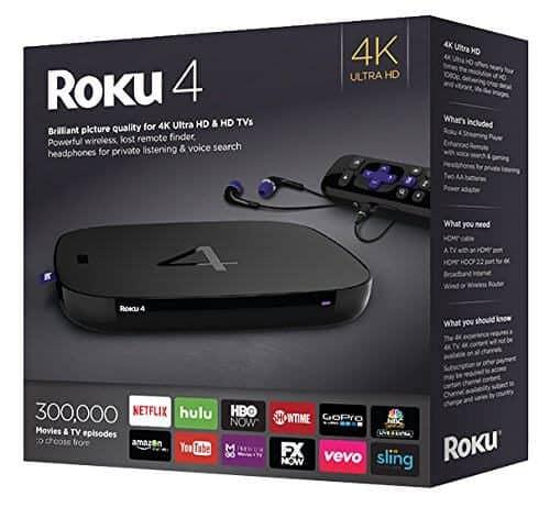 Roku 4 Preview: больше и быстрее устройство Roku для вашего HTPC