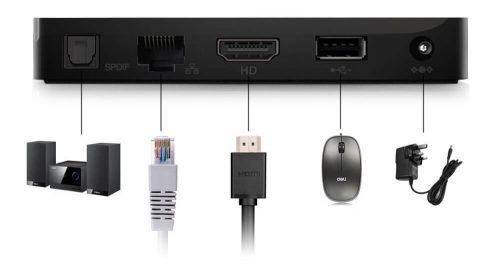 Quick Keedox Smart TV Review: 4k видео для вашего HTPC