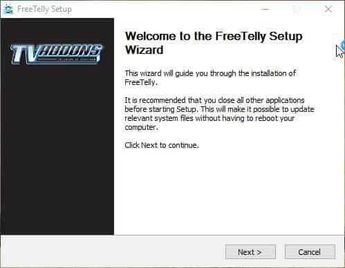 Руководство: Как установить FreeTelly на Windows