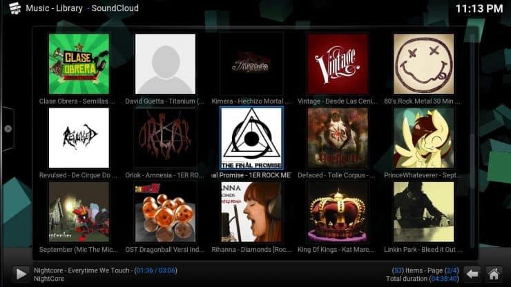 Руководство: Как установить аддон Kodi SoundCloud