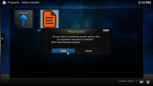 Руководство: Как установить NFO WatchedState Updater Kodi addon