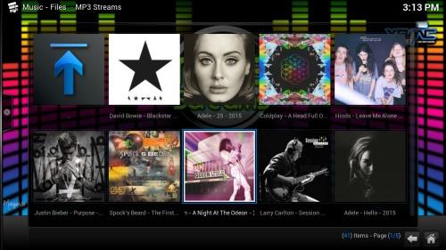 Руководство: Как установить аддон Kodi MP3 Streams