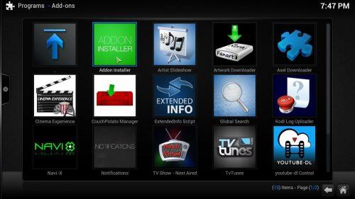 Руководство: Как установить аддон Kodi SALTS на свой HTPC