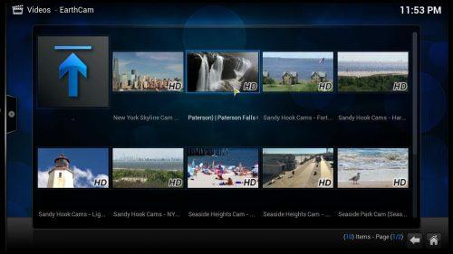 Руководство: Как установить аддон Kodi Earthcam