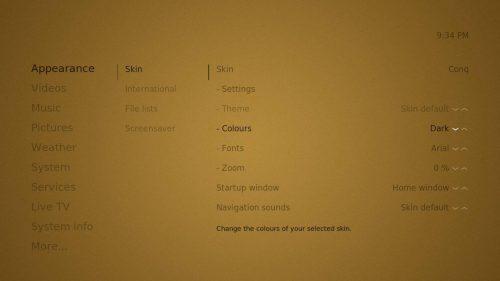 Обзор кожи Kodi Conq: чрезвычайно простой интерфейс Kodi
